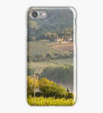 Chianti Vineyards iPhone Case/Skin