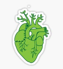 Veggie heart Sticker