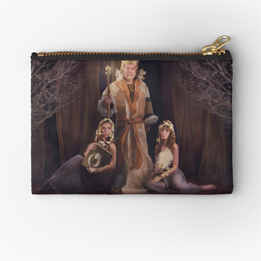 Beloved of the Crown Zipper Pouch