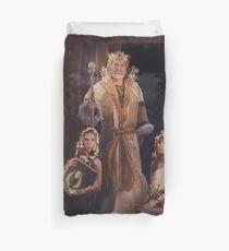 Beloved of the Crown Duvet Cover