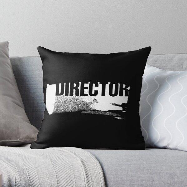Film Crew II. Director. Throw Pillow