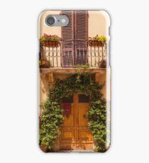 Doorway to Pienza iPhone Case/Skin