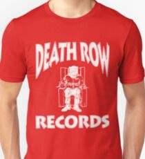DEATH ROW IN WHITE T-Shirt