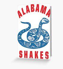 Alabama Shakes - Snake Greeting Card