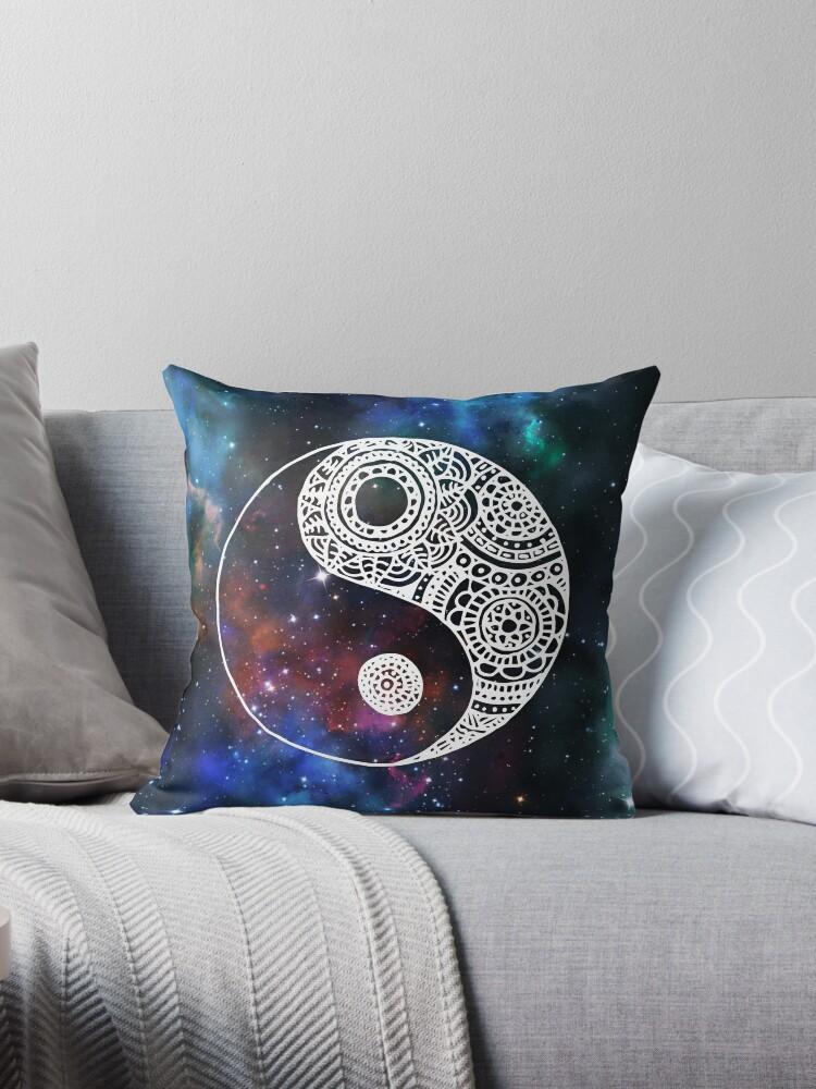 Galaxy Yin Yang by julieerindesign