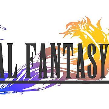 Final Fantasy 10 Logo by MaxiPower