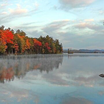 Fall - Highland Lake (Kramers Landing) by rural-guy