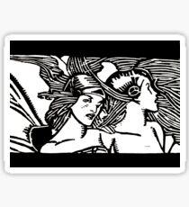 Wind Fairies Sticker
