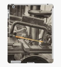 Mechanical Hacksaw  iPad Case/Skin