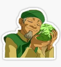 Cabbage Guy Sticker