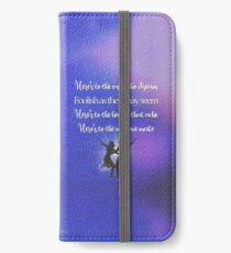 The fools who dream iPhone Wallet/Case/Skin