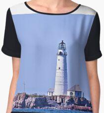 Boston Lighthouse  Women's Chiffon Top