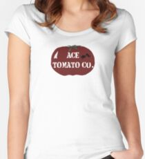 Ace Tomato Company Women's Fitted Scoop T-Shirt
