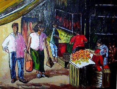 THE MARKET by ANNETTE HAGGER