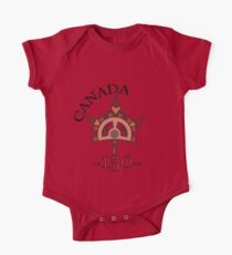 Canada 150 - Steampunk Maple Leaf Kids Clothes