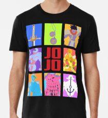 JoJos bizarres Abenteuer - Stände und Waffen Premium T-Shirt