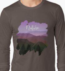 Nature Scenery Landscape Minimalist Cool Gift Shirt T-Shirt