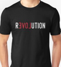 Love Revolution - Protest Typography T-Shirt