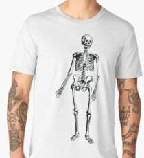 Bones Skeleton Men's Premium T-Shirt