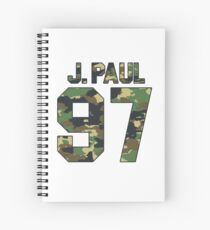 J PAUL 1997 Spiral Notebook