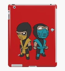Scorpion & Sub-Zero iPad Case/Skin