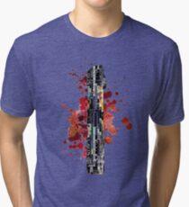 Darth Vader Lightsaber Tri-blend T-Shirt