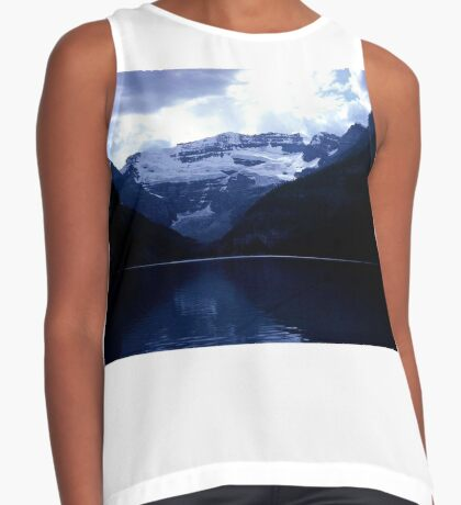 The Splendor of Lake Louise Contrast Tank