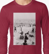 Long Beach California Vintage Photo, 1920s  T-Shirt