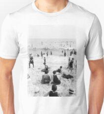 Long Beach California Vintage Photo, 1920s  Unisex T-Shirt