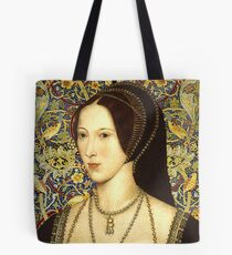 Anne Boleyn, Queen of England Tote Bag