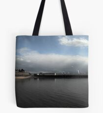 Hartlepools Pier and Lighthouse Tote Bag