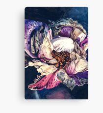 Macro dying flower #1 Canvas Print