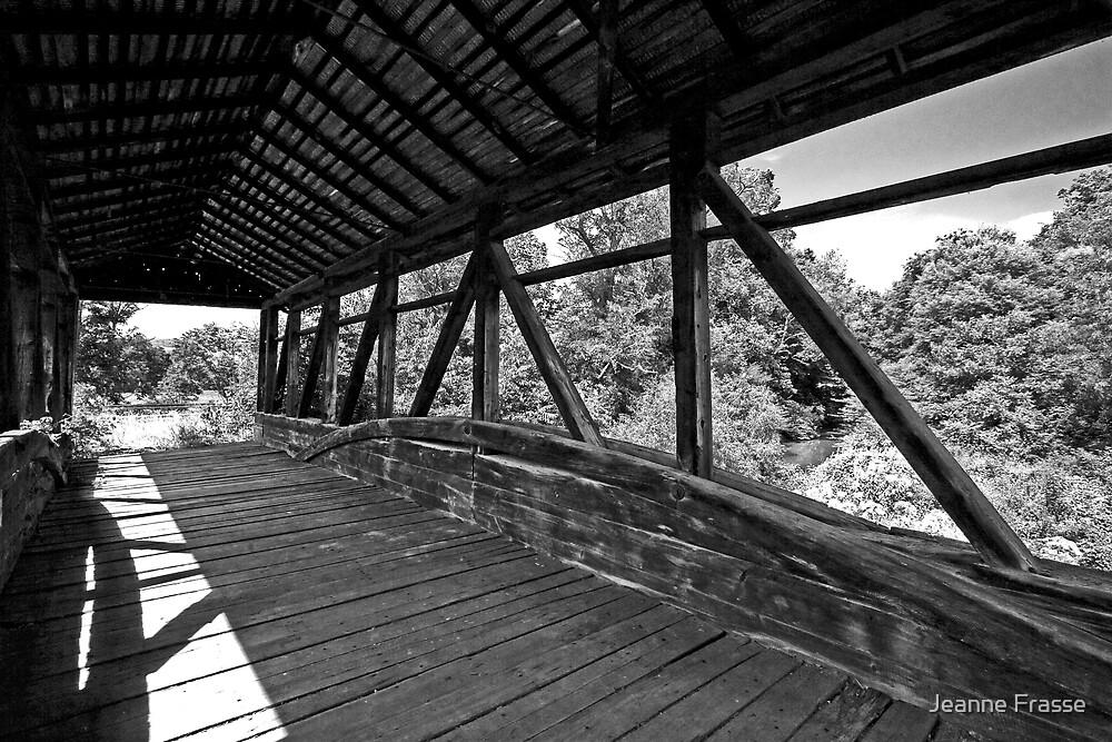 Covered Bridge by Jeanne Frasse