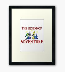 The Legend of Adventure  Framed Print