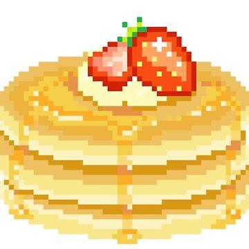 Strawberry Pancakes by erinaugusta