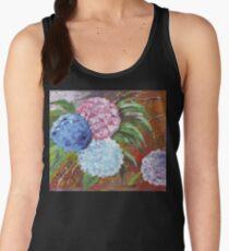 Hydrangeas in Acrylic Women's Tank Top
