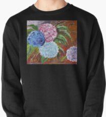 Hydrangeas in Acrylic Pullover