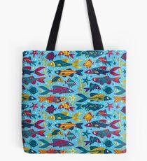 One Fish, Two Fish, Lots of Fish Tote Bag