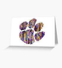 Go Tigers Greeting Card