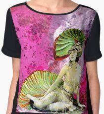 Gypsy Seashell Babes - Wakiki Princess Women's Chiffon Top