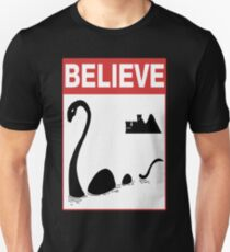 Believe Loch Ness Monster T-Shirt