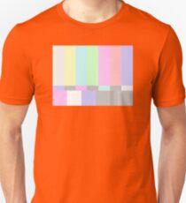 Pastel TV Bars T-Shirt