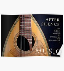 After Silence, Music Poster