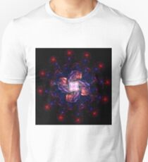 Atomic Headdress of The Sun ~ Fractal Art T-Shirt