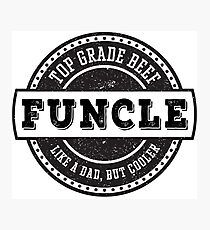Top Grade Beef Funcle Photographic Print