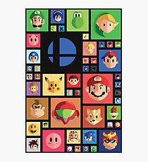 Super Smash bros 4 Photographic Print