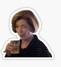 Lucille Bluth Wink Sticker