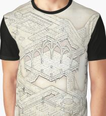Isometric Dungeon Map Graphic T-Shirt