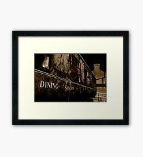 Dining Saloon Car Downpatrick Framed Print
