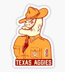 Texas A&M University Aggies Vintage Decal Sticker